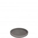 Clay coasters, impregnated inside, diameter 18